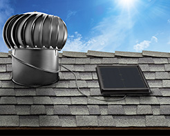Interior Mounted Solar Attic Fan - Whirley Bird