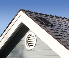 Interior Mounted Solar Attic Fan