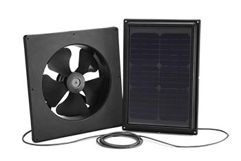 Interior Mount Solar Attic Fan