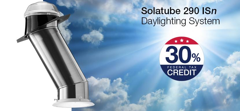 Solatube 290isn Daylighting System Tax Credit