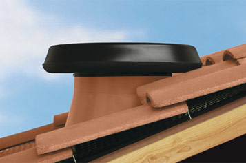 Solar Attic Fan Tile Roofs