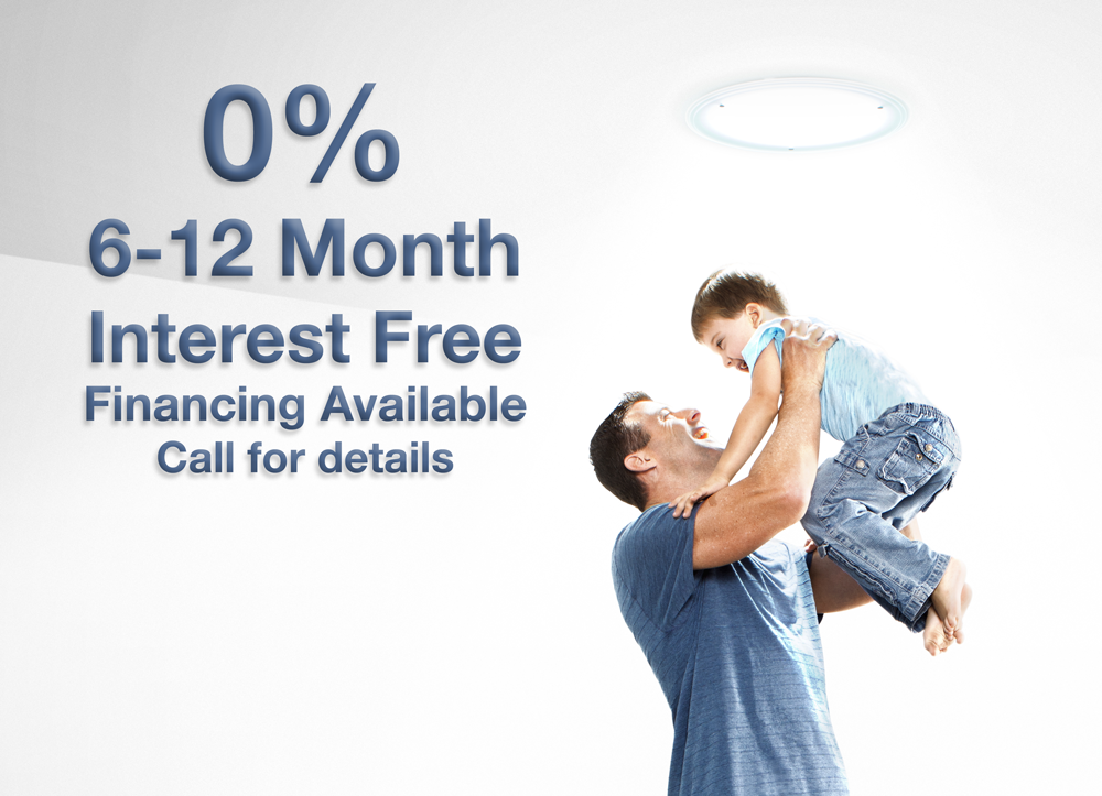 Interest Free Financing Available for the first 6-12 Months