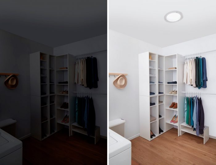 Solatube Home Closet Before & After