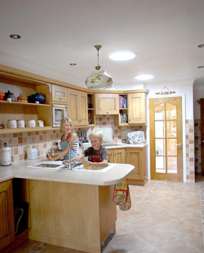 Solatube in Kitchen