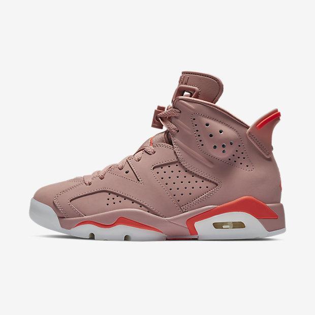 Aleali May x Air Jordan 6 Retro  Millennial Pink  (W)03-15-2019 54aa06e75a
