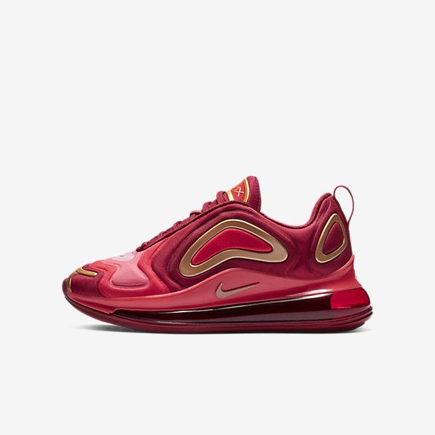 Nike Air Max 720  Team Crimson  (GS)02-28-2019 7d9368623