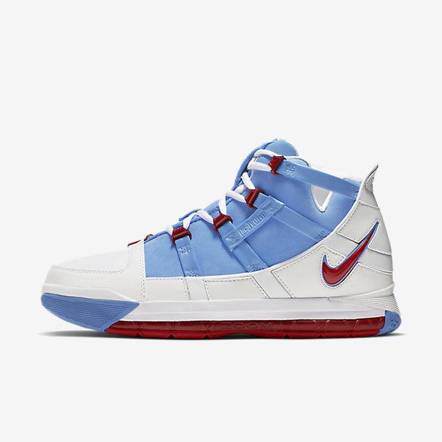 super popular 0f2e1 d5428 Nike Zoom LeBron 3 QS  Houston Oilers 05-02-2019
