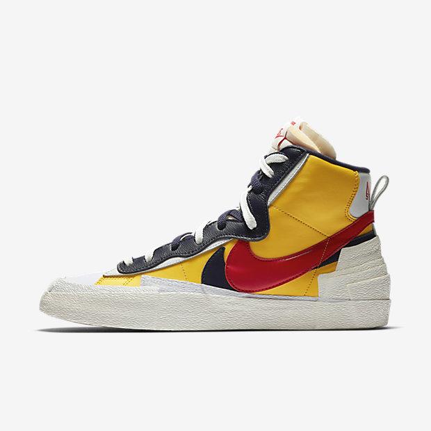 e30c6339f8b Sacai x Nike Blazer Mid 'Varsity Maize'05-30-2019