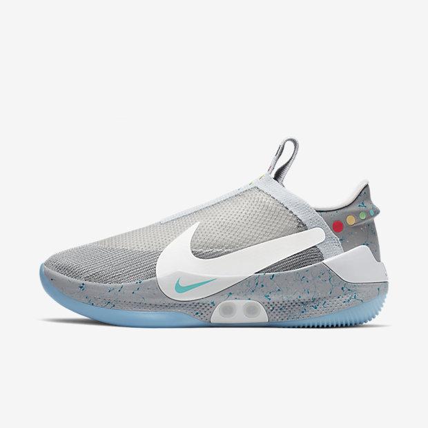 2164952c0a2 Nike Adapt BB 'Wolf Grey'05-29-2019