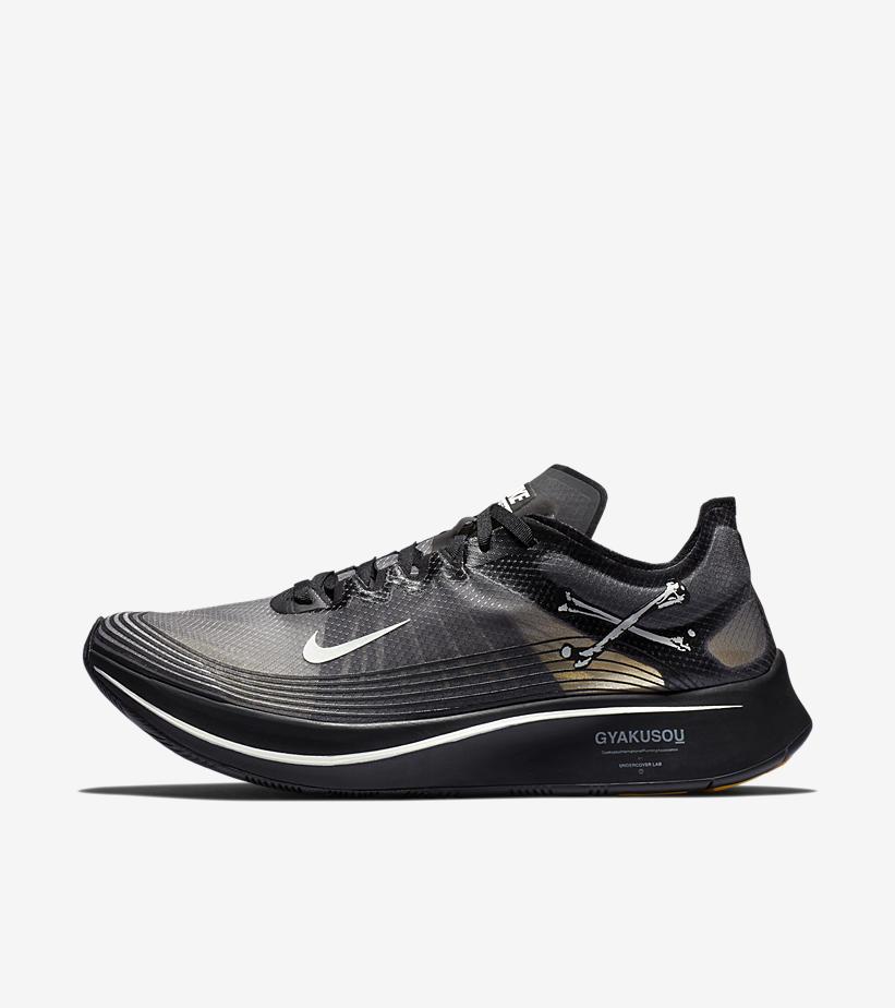 10dc34bc38baa Undercover Gyakusou x Nike Zoom Fly SP  Black
