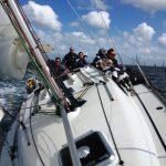 Nomad 1 - under sail