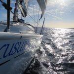 Yacht Kurusu bow shot