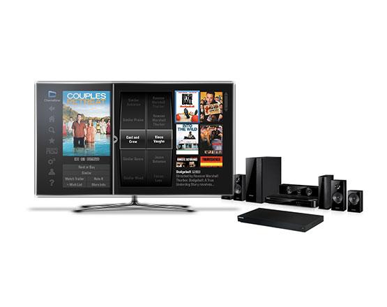 Best Buy CinemaNow TV Application