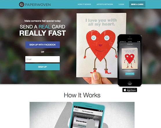 Paperwoven Web Application