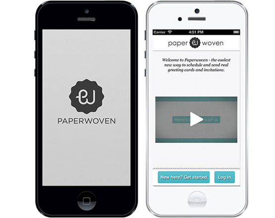 Paperwoven iOS Mobile Application