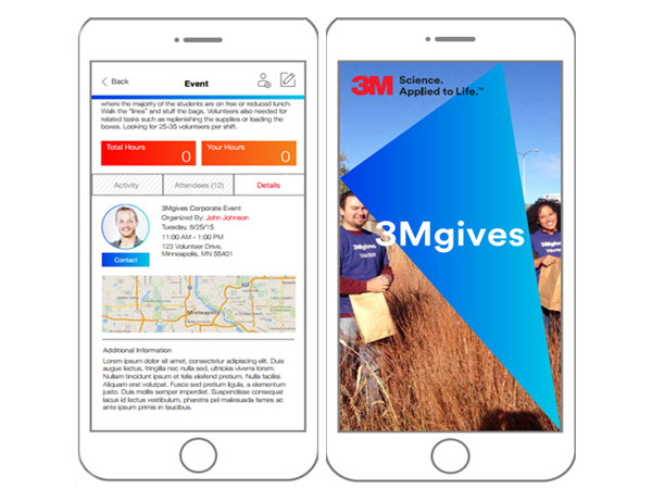 3M Gives Mobile Application