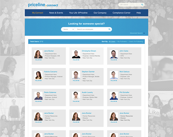 Connect Priceline Launches To Internal Priceline Employees