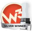 w3 Silver Award for Visual Appeal
