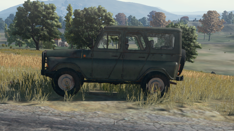 UAZ (Closed Top Steel)