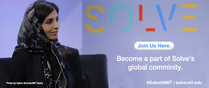 Join us here. Become a part of Solve's global community. (Photo by Adam Schultz/MIT Solve)