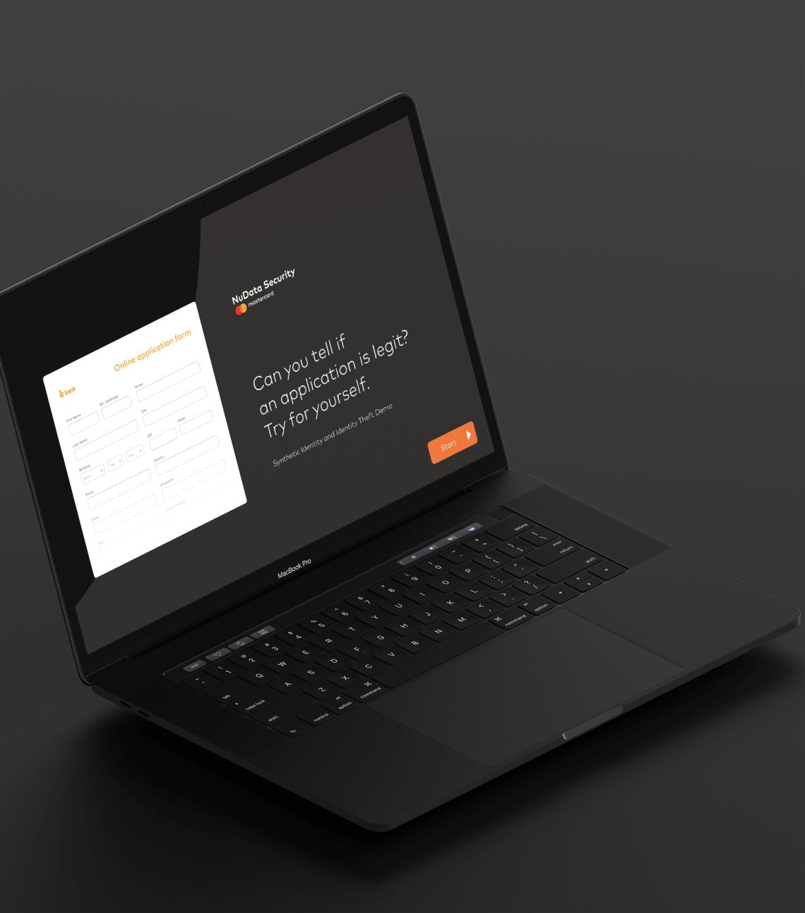Mastercard NuData Platform Demo