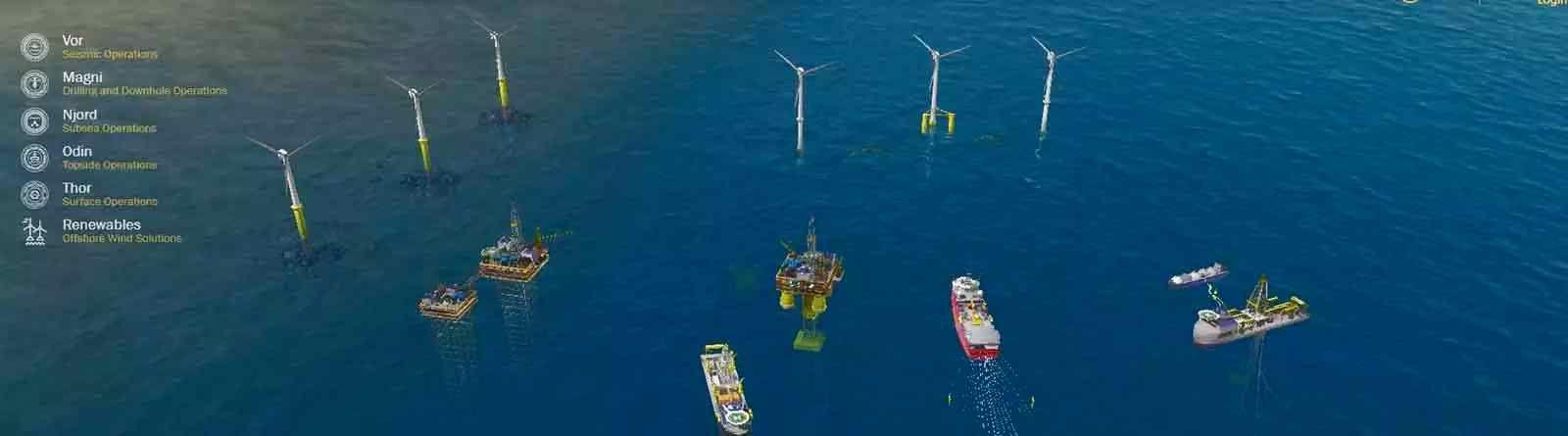 Trelleborg Nautical Offshore Interactive Environment