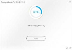 Pangu9 Jailbreak running 30%
