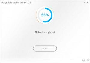 Pangu9 Jailbreak running 55%