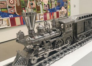 The Broad Museum - Train