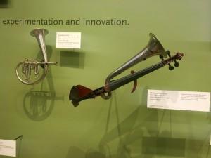 MIM horn fiddle