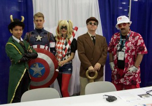 Wondercon 2016 - Agesnts of Costplay