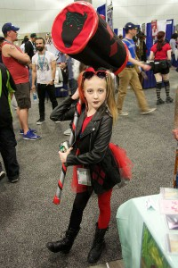 Wondercon 2016 - child Harley Quinn