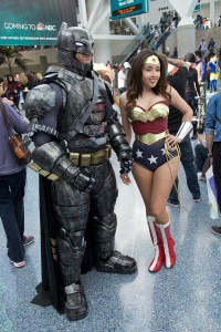 Wondercon 2016 - Batman and Wonder Woman