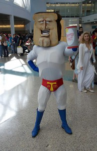 Wondercon 2016 - Powderd Toast Man