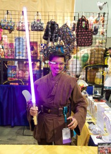 Wondercon 2016 - Google Glass Jedi