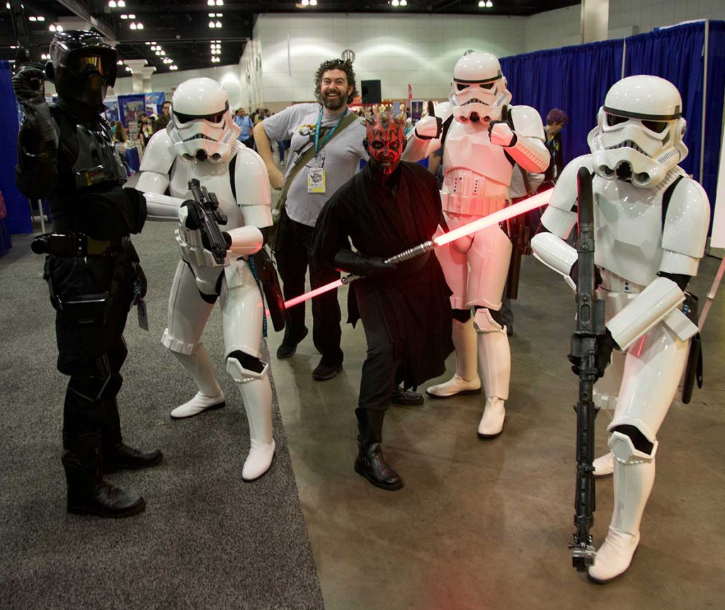 Wondercon 2016 - be3n stormtroopers