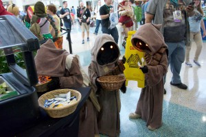 Wondercon 2016 - Children Jawas