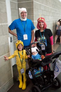 Wondercon 2016 - Adventure Time Family