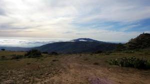 Fog Rolls Up On Catalina