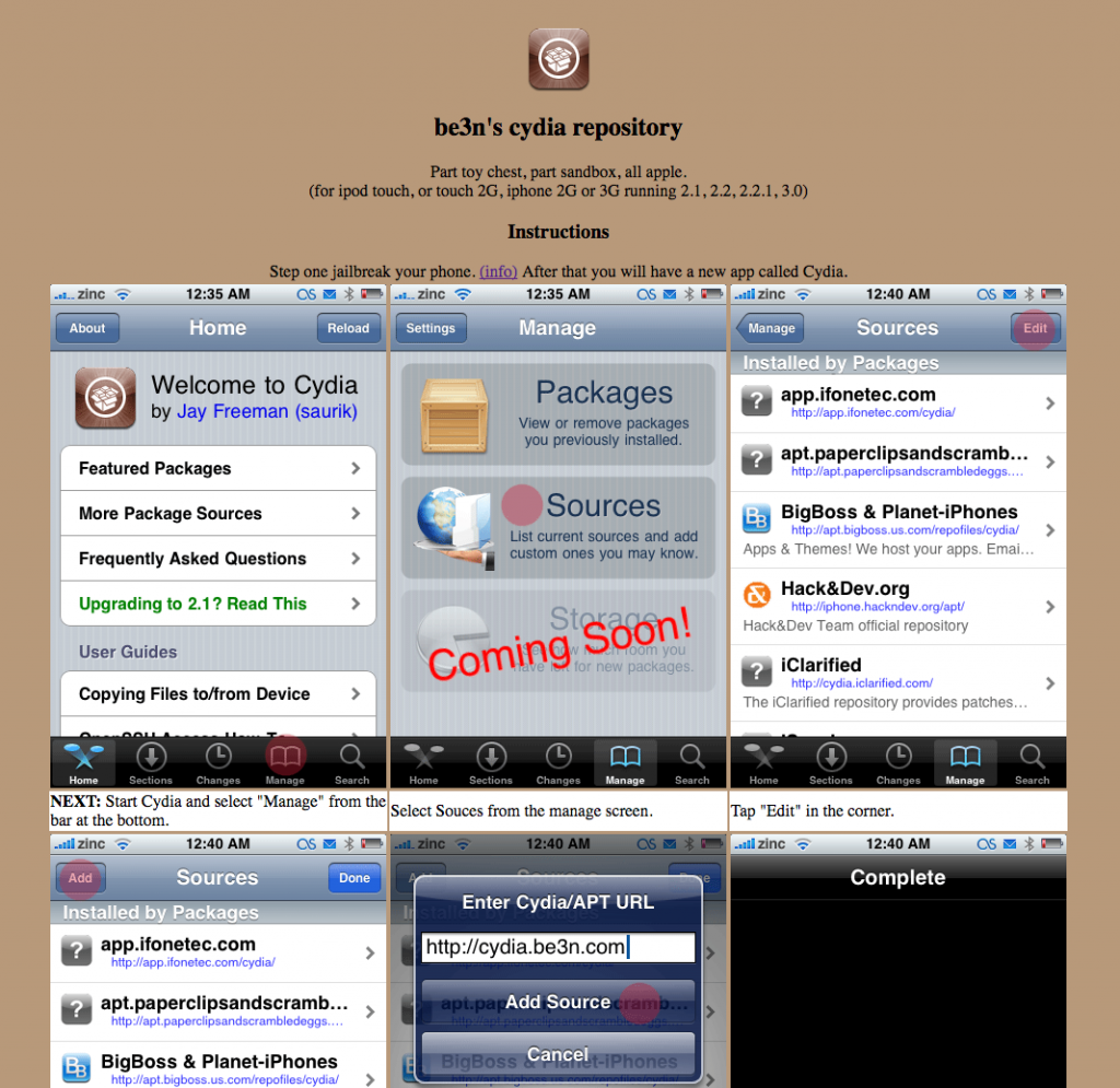 cydia.be3n.com site