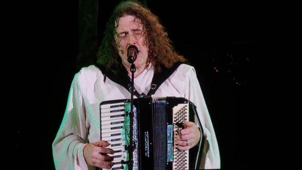 Weird Al plays accordion at Hollywood Bowl