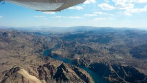 flying over the colorodo river
