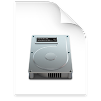 Apple Disk Image Icon