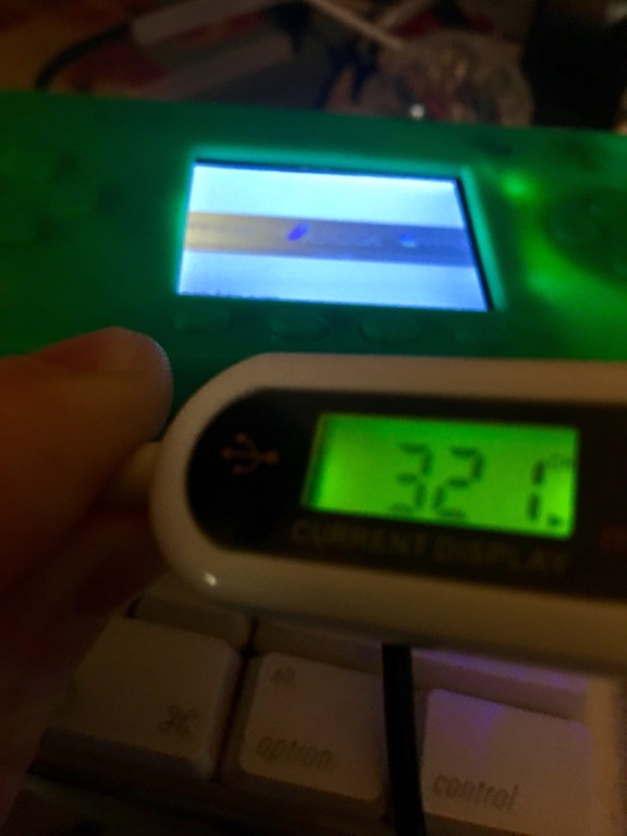 Micro USB amp meter