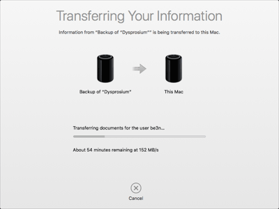 MacPro Data Transfer