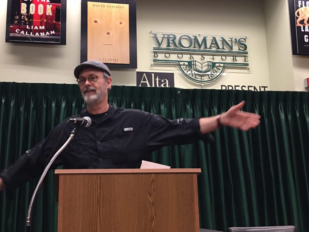 Christopher Moore at Vroman's Book Store