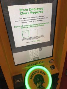 KeyMe - employee check