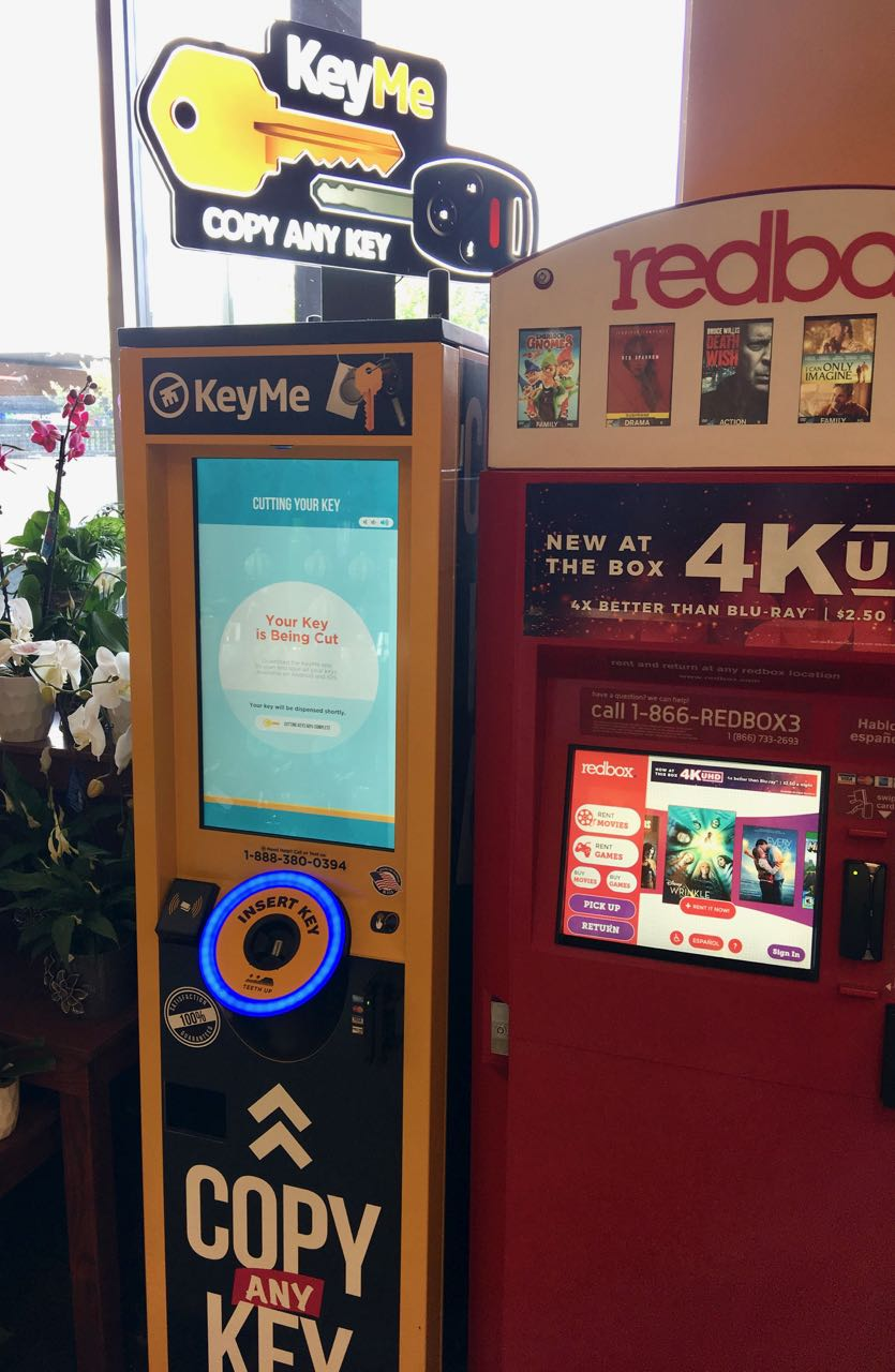 My first purchase from a KeyMe kiosk and I have notes
