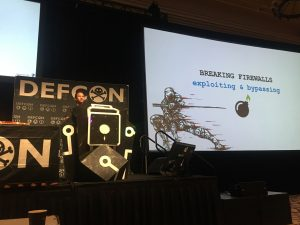 DEFCON26 - Patrick Wardle of Objective See discussing Mac firewalls