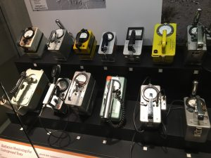 Atomic Testing Museum - Geiger Counters